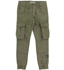 Name It Cargo Trousers - Bamgo - Noos - Deep Lichen Green