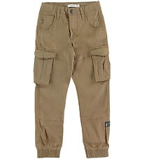 Name It Cargo Trousers - Bamgo - Kelp