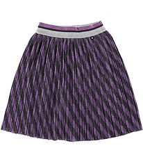 Molo Skirt - Bailini - Purple w. Stripes