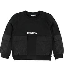 Name It Sweatshirt - NkmDude - Black w. Text