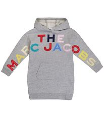 Little Marc Jacobs Dress w. Hoodie - Grey Melange