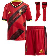 adidas Performance Home Set - Belgium Mini - Red/Black