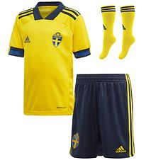 adidas Performance Home Set - Sweden Mini - Yellow/Blue