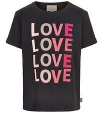 Creamie T-shirt - Love - Black