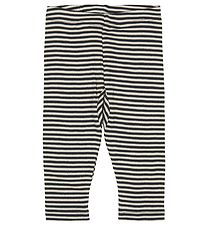Pippi Leggings - Blue/White Striped