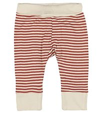 Pippi Trousers - Marsala/White Striped