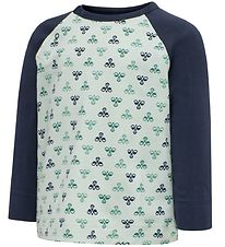 Hummel Blouse - HMLBoble - Green w. Logo