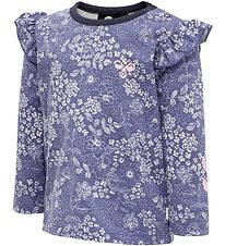Hummel Blouse - HMLRio - Blue w. Flowers