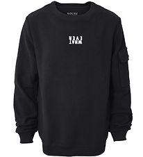 Hound Sweatshirt - Crew Neck - Black