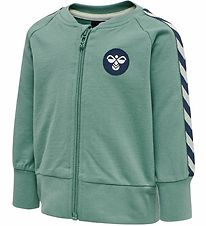Hummel Zip Cardigan - HMLPatos - Green