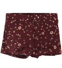Soft Gallery Swim Pants - UV50+ - Pamela - Oxblood Red/Flowery