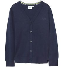 BOSS Cardigan - Smart Casual - Navy w. Buttons