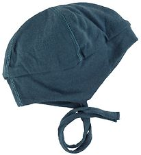 Joha Baby Hat - Double Layer - Wool - Petroleum