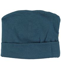 Joha Beanie - Double Layer - Wool - Petroleum