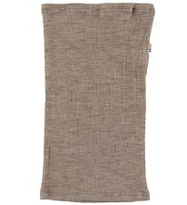 Joha Tube Scarf - Rib - Wool/Silk - Brown Melange