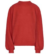Cost:Bart Jumper - Wool/Acrylic - Knitted - Kleo - Red