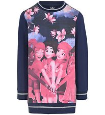 Lego Friends - Sweatshirt - Navy w. Print