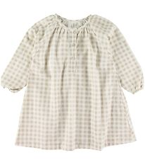 Studio Feder Night Gown - Gingham Oat