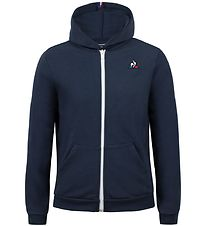Le Coq Sportif Zip Hoodie - ESS FZ - Dress Blues