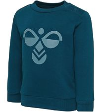 Hummel Sweatshirt - HMLMasi - Dusty Blue