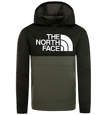 The North Face Hoodie - Surgent - Army Green/Black w. Print