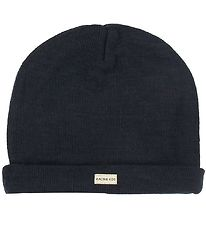 Racing Kids Hat - Wool/Cotton - Navy