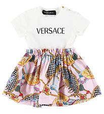 Versace Dress - White/Patterned