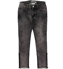 Hound Jeans - Paint - Ankle Fit - Black Used Denim