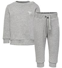 Hummel Sweatset - 2 Part - hmlSanto - Grey Melange