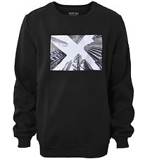 Hound Sweatshirt - Black w. Photo