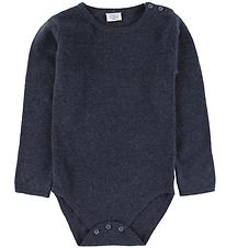 Hust and Claire Bodysuit l/s - Wool - Navy