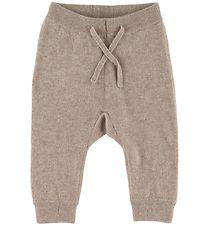 Hust and Claire Trousers - Wool - Beige