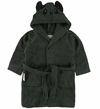 Liewood Bathrobe - Lily - Panda Hunter Green