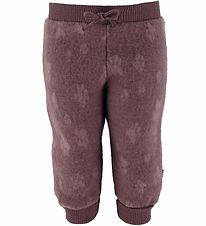Joha Trousers - Baby Wool - Purple w. Paws
