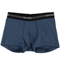 Say-So Boxers - Blue