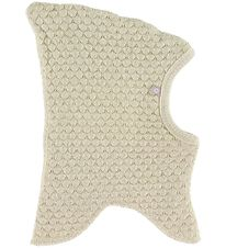 Smallstuff Balaclava - Wool - Double layer - Offwhite/Gold