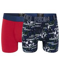 Ronaldo Boxers - 2-pack - Red/Green/Blue w. Print