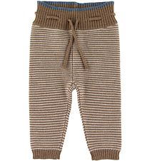 Mini A Ture Trousers - Wool - Leslie - Otter Brown