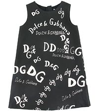 Dolce & Gabbana Dress - Back To School - Black w. Print