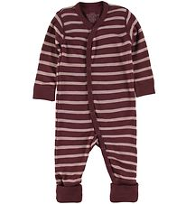 Hust and Claire Nightsuit - Wool/Bamboo - Manu - Bordeaux w. Str