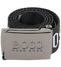 BOSS Belt - Black w. Text