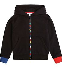 Little Marc Jacobs Zip Hoodie - Selection D1 - Black