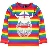 Danefæ Longe Sleeve Top - Northpole - Rainbow w. Erik