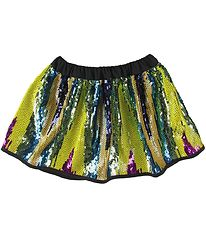 Christina Rohde Skirt - Multicolored w. Sequins