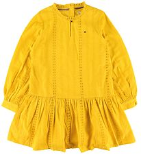 Tommy Hilfiger Dress - Embroidery Anglais - Valley Yellow