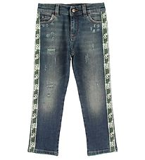 Dolce & Gabbana Jeans - Blue w. Stripes