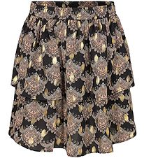 Petit by Sofie Schnoor Skirt - Siggy - Black w. Rose/Gold