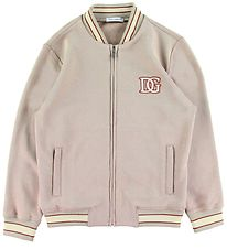 Dolce & Gabbana Zip Cardigan - Country - Light Brown