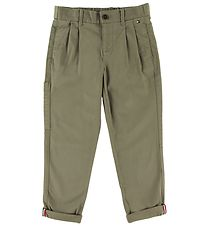 Tommy Hilfiger Trousers - Authentic - Olive Tree