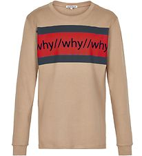 Cost:Bart Long Sleeve Top - Kip - Tannin w. Red